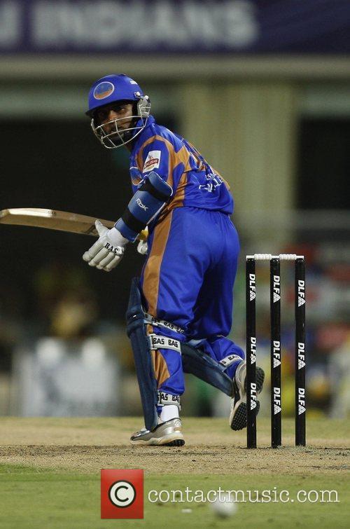 Final of the IPL Rajisthan Royals against Chennai...