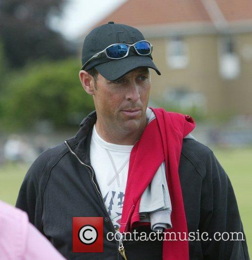 Marcus Trescothick playing in a Somerset v Weston...