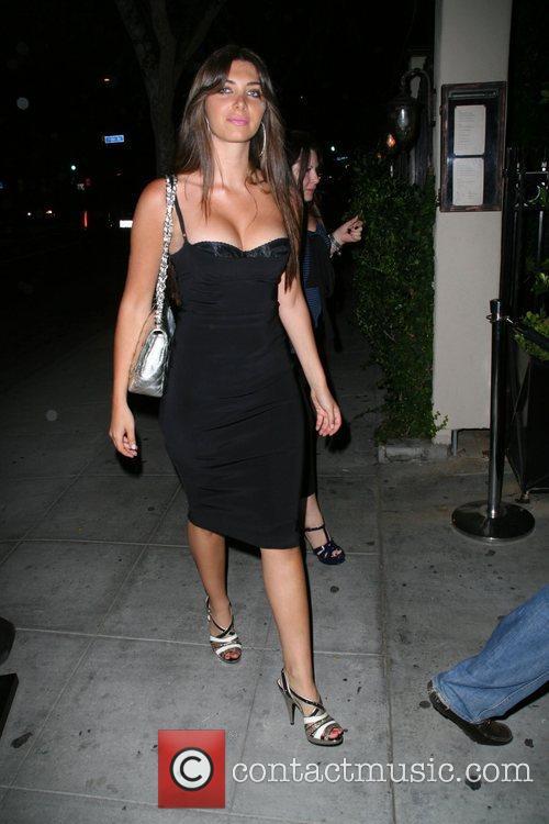 Leaving Crown Bar in Hollywood