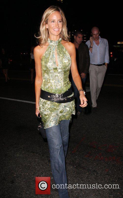 Lady Victoria Hervey leaving the Crown bar Los...