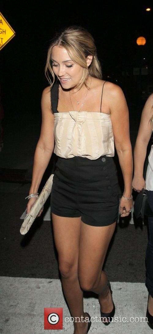 Lauren Conrad leaving Crown nightclub Hollywood, California