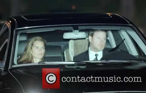 Brooke Shields arriving at Tom Cruise and Katie...