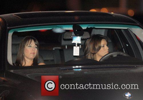 Eva Longoria arriving at Tom Cruise and Katie...
