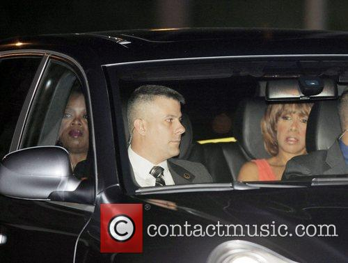 Oprah Winfrey arriving at Tom Cruise and Katie...