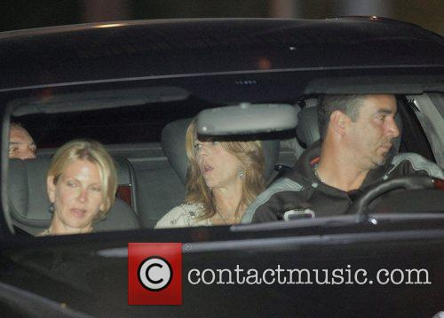 Rita Wilson arriving at Tom Cruise and Katie...