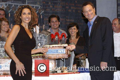 CSI: NY 100th episode celebration at Studio City