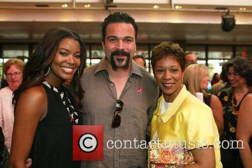 Gabrielle Union and Ricardo Chavira 2008 Susan G....