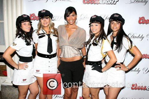 Michelle Bernard Daddy Yankee CD release party for...