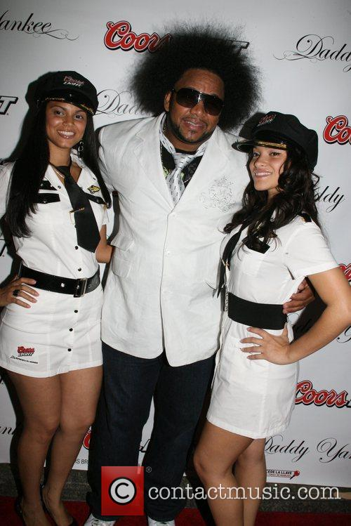 Shino Daddy Yankee CD release party for 'Talento...