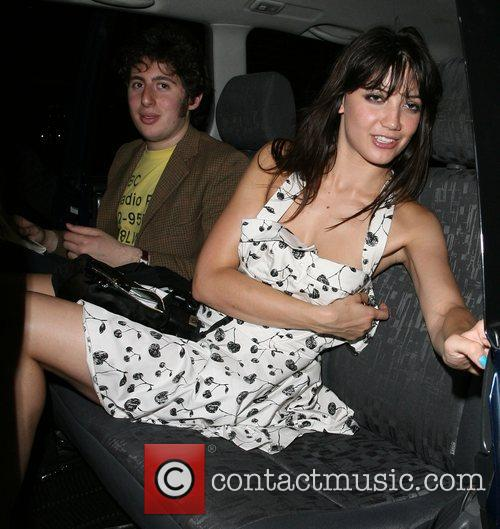 Daisy Lowe arrives home just before 4am, having...