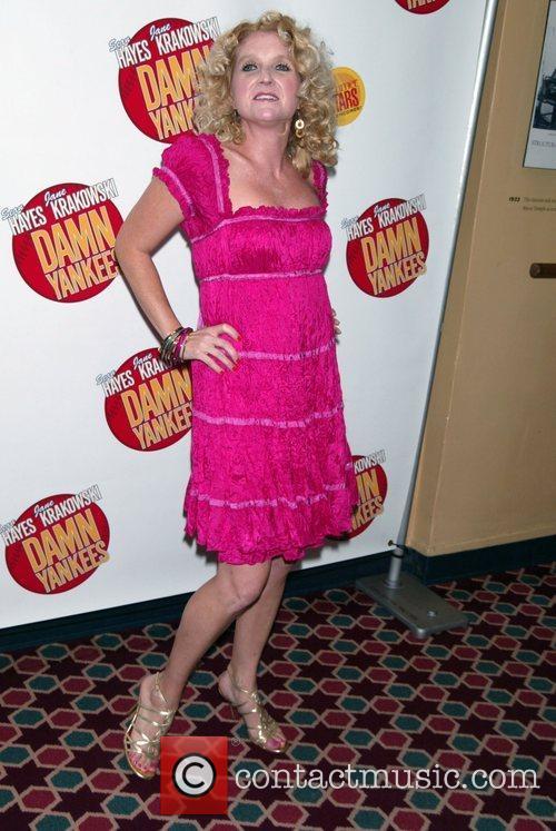 Megan Lawrence Opening night performance of 'Damn Yankees'...