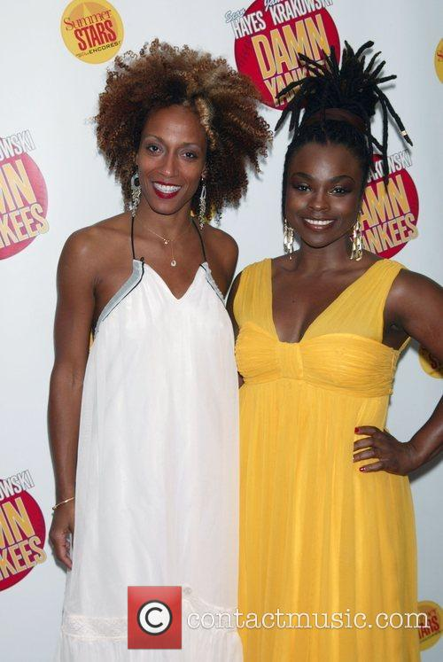 Stacey Sargeant and Karine Plantadit Opening night performance...