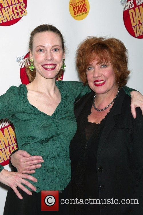 Veanne Cox and Kathy Fitzgerald Opening night performance...