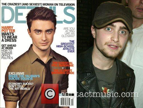 Daniel Radcliff, groomed and styled as he appears...