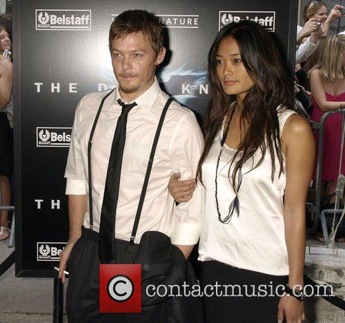 Norman Reedus and Jarah Mariano New York Premiere...