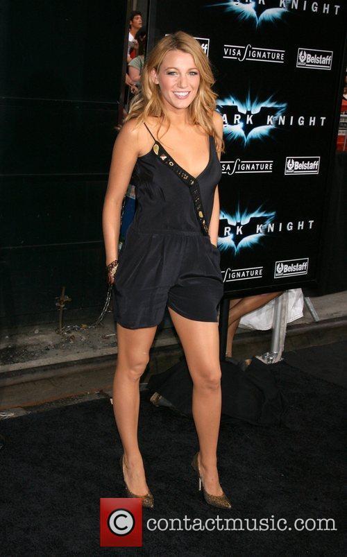 Blake Lively New York Premiere of 'The Dark...