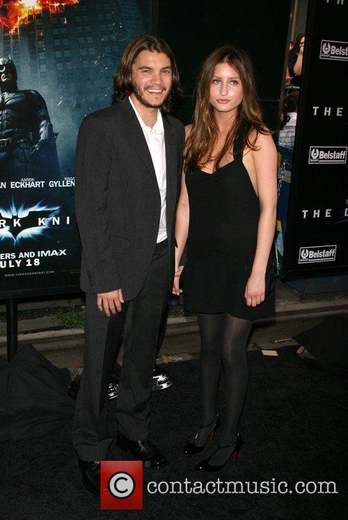 Emile Hirsch and guest New York Premiere of...