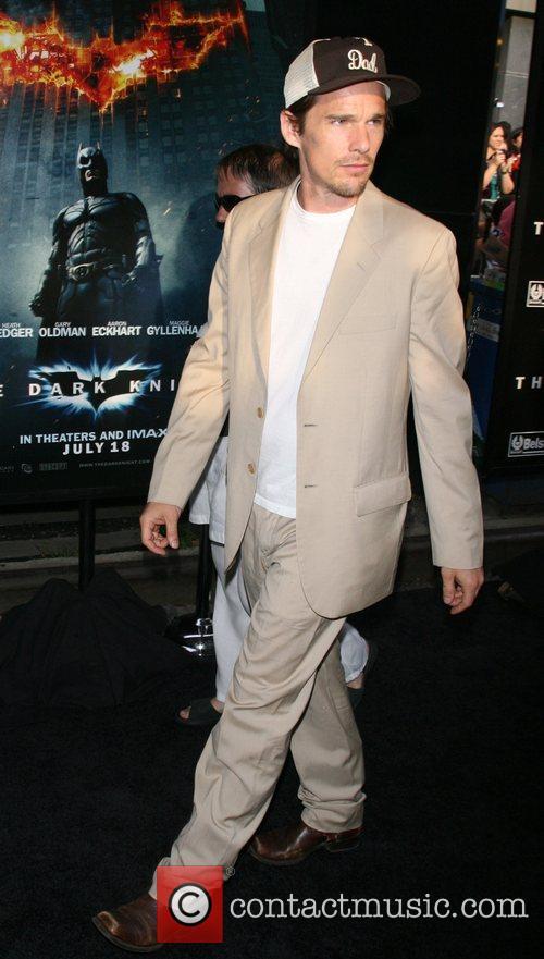 Ethan Hawke New York Premiere of 'The Dark...
