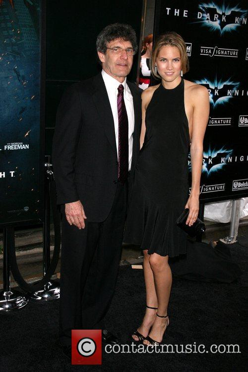 Guests New York Premiere of 'The Dark Knight'...