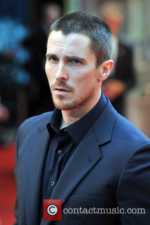 Christian Bale The UK premiere of ''The Dark...