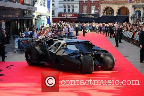 Atmosphere The Batmobile The UK premiere of ''The...