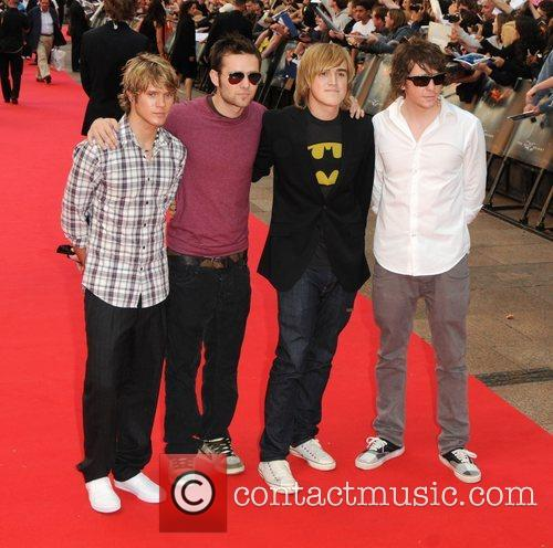 Dougie Poynter, Danny Jones, Harry Judd and Tom Fletcher 3