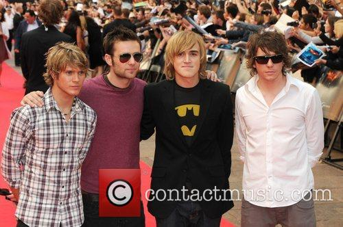 Dougie Poynter, Danny Jones, Harry Judd and Tom Fletcher 1