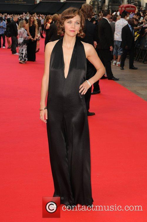 Maggie Gyllenhall The UK premiere of ''The Dark...