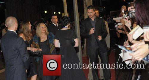 The Barcelona premiere of 'The Dark Knight' held...
