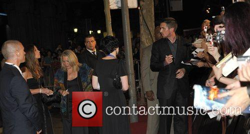 Sibi Blazic and Christian Bale The Barcelona premiere...