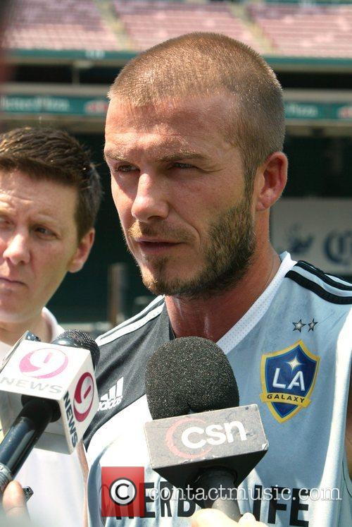 David Beckham and La Galaxy 36
