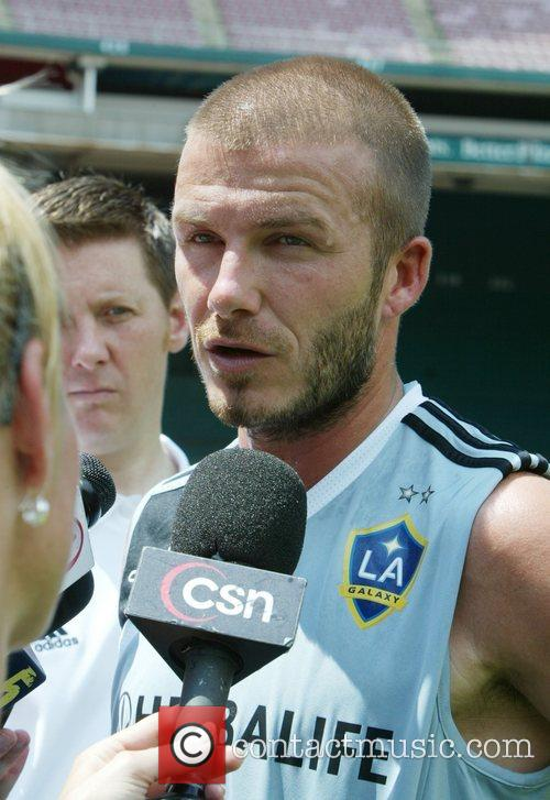 David Beckham and La Galaxy 12