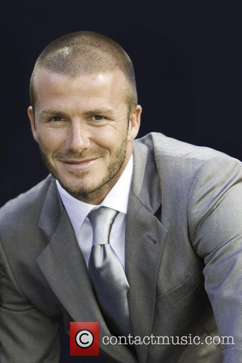 David Beckham and Billboard 40