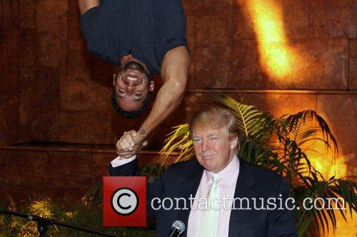 David Blaine and Donald Trump 11