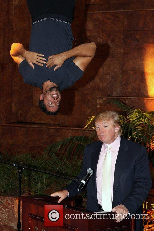 David Blaine, Donald Trump