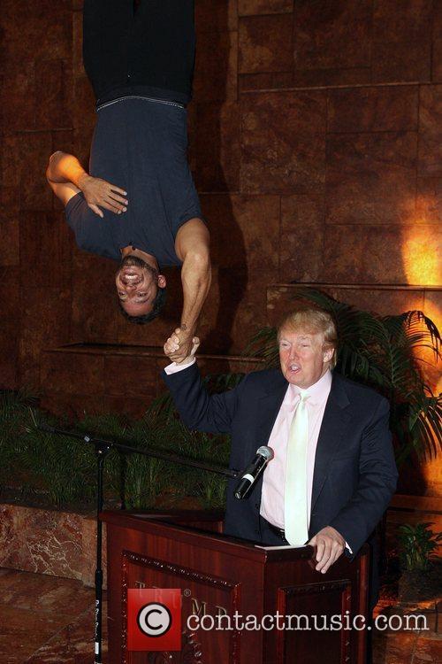 David Blaine and Donald Trump 24
