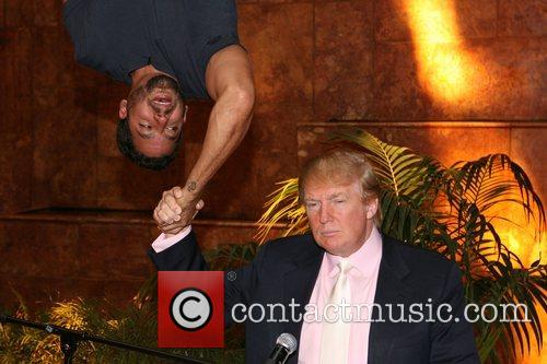 David Blaine and Donald Trump 6