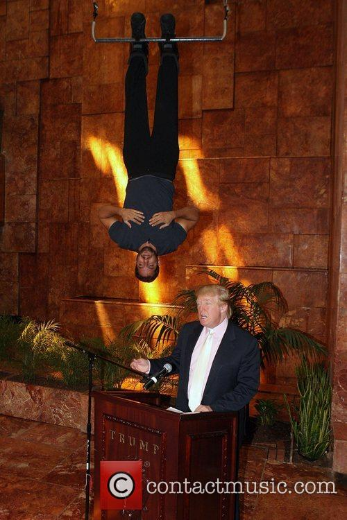 David Blaine and Donald Trump 8