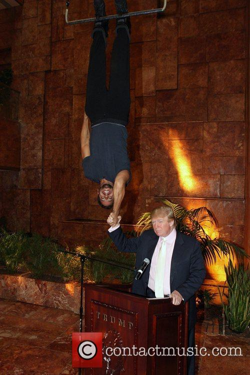 David Blaine and Donald Trump 4