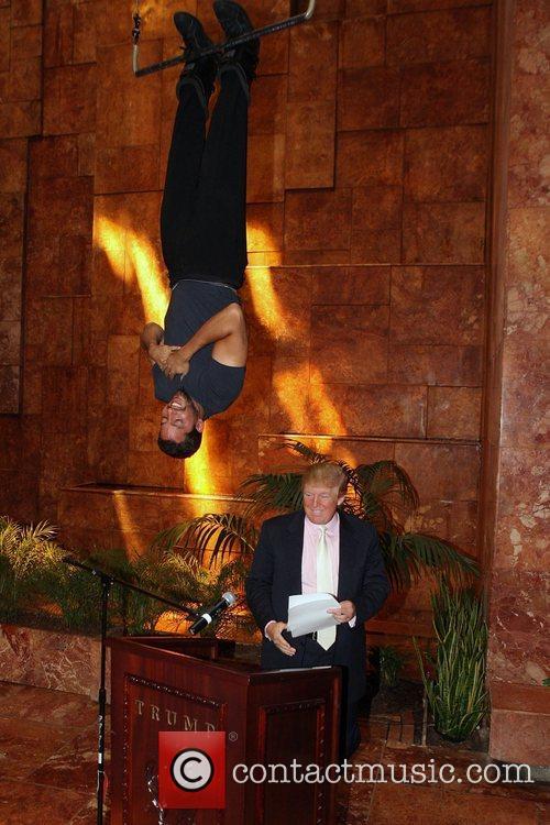 David Blaine and Donald Trump 22