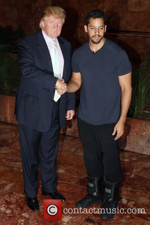 David Blaine and Donald Trump 1