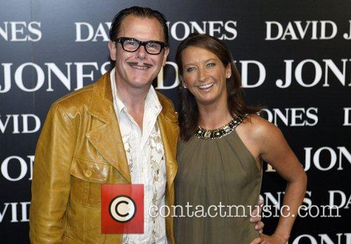 Kirk Pengilly of INXS and Layne Beachley David...