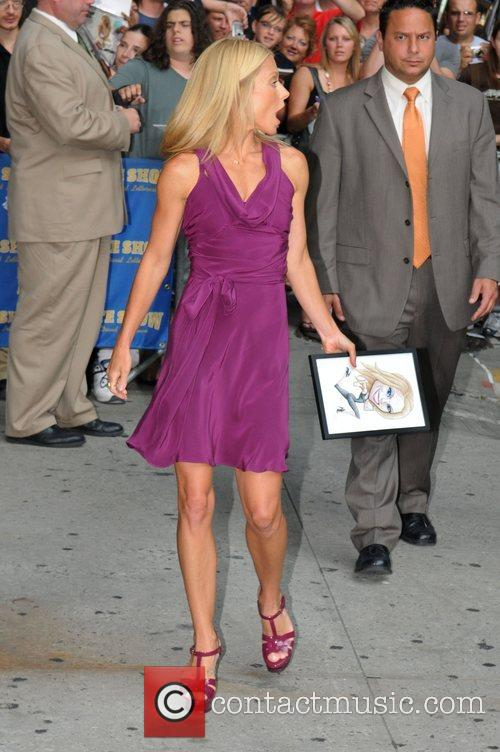 Kelly Ripa, David Letterman, The Late Show With David Letterman
