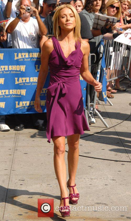 Kelly Ripa, David Letterman and The Late Show With David Letterman 11