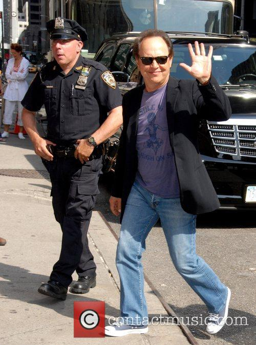 Billy Crystal, Cbs and David Letterman 2