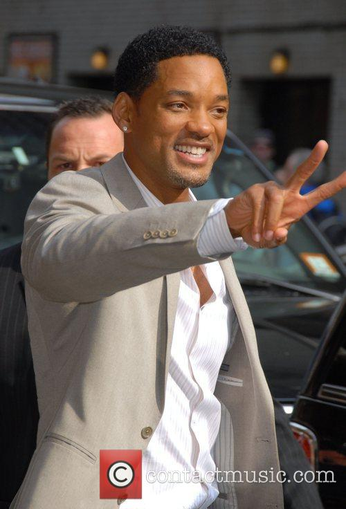 Will Smith, Cbs and David Letterman 5