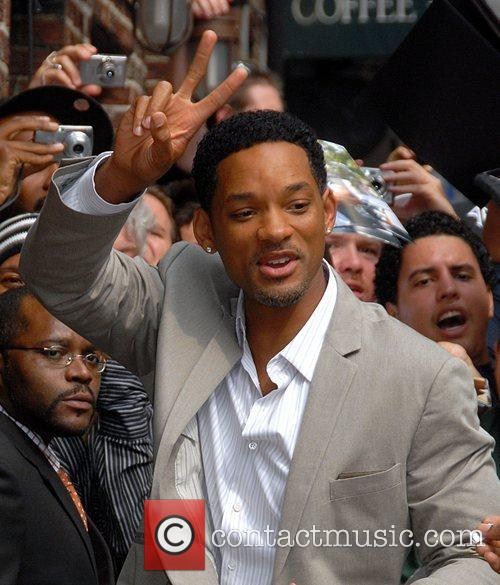 Will Smith, Cbs and David Letterman 3