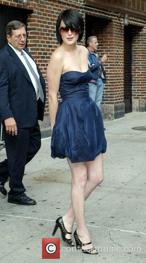 Rumer Willis, David Letterman and Ed Sullivan Theatre 5