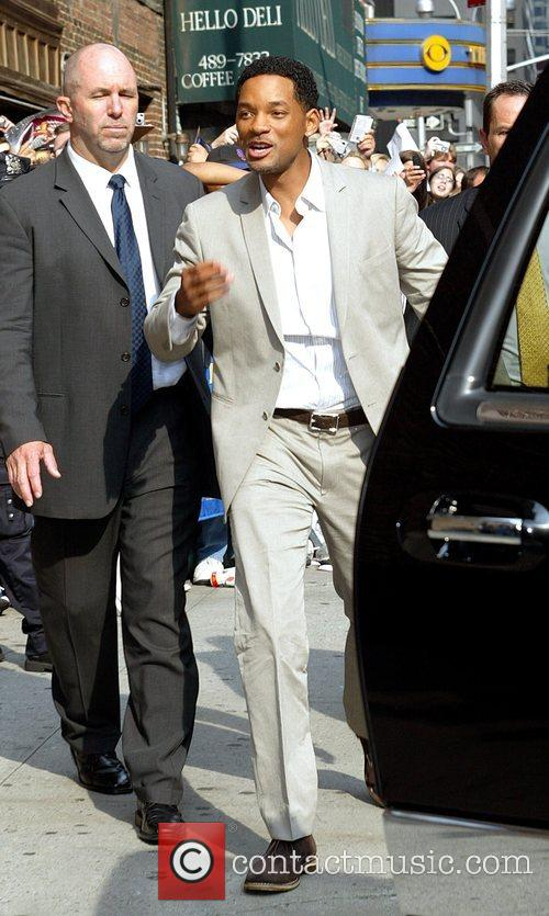 Will Smith, CBS and David Letterman 16