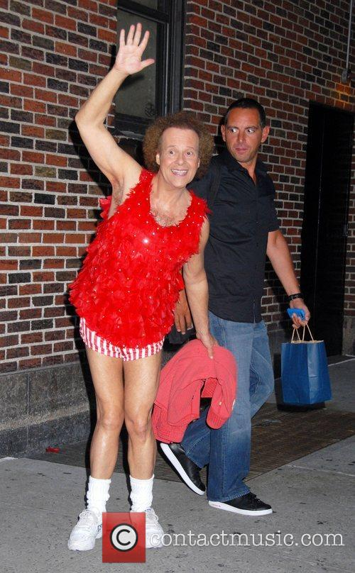 Richard Simmons and David Letterman 1